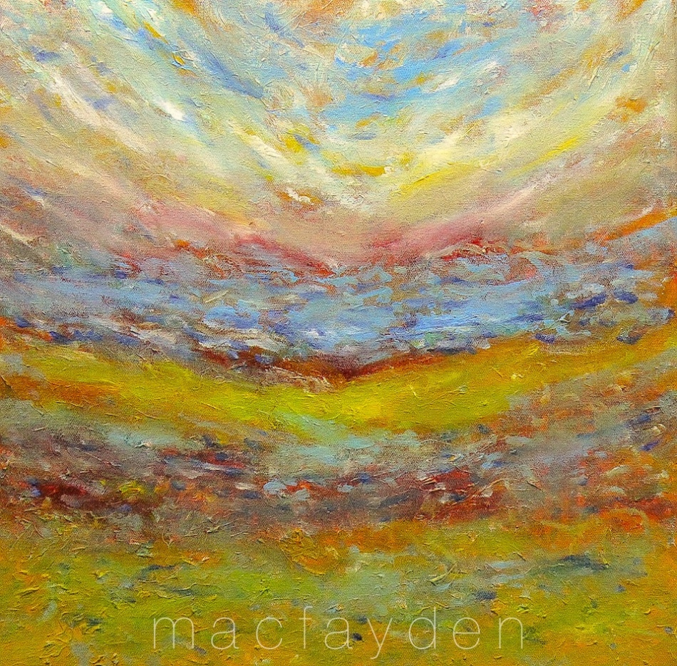 Hills, Oil on Canvas, Laurie MacFayden